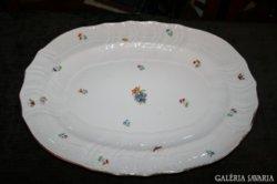 Nagyon szép Herendi tányér, apró virágos, lepkés