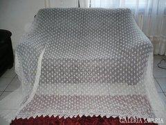 Horgolt nagy CSIPKE FÜGGÖNY - 205x260 cm