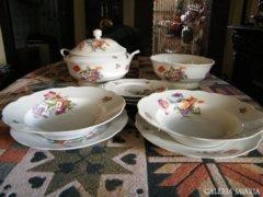 Zsolnay porcelánok 10 darab