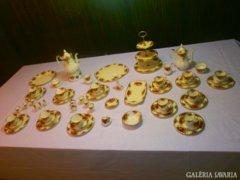 Antik extrém  Royal Albert Angol12szem.kávés.teás,sütis.12 szem.arany evőeszköz ajánkban lássa Fotó
