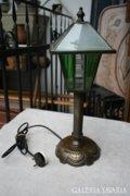 Ritka szép art deco bronz asztali lámpa
