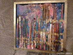 Piszkátor: absztrakt festmény