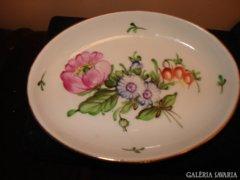 Herendi porcelán bazsarózsás kistálka/hamutartó