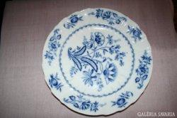 Nagy méretű meissen-i mintás kék tányér