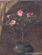 Anton Jank (1874-1956): Virágcsendélet