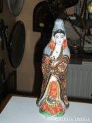 Japán porcelán női figura