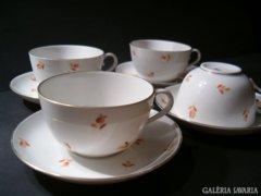 ÓHERENDI teáscsészék aljjal