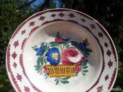 Antique flower basket professional bowl,