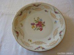 Antik német porcelán asztalközép sok arany mintával (30)