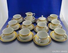 6954 Jelzett porcelán teás készlet