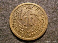 Német 50 pfennig  1924F