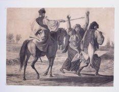 Lotz Károlynak tulajdonítva: Pusztai jelenet, 19. sz.