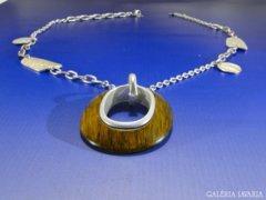 0A424 Igényes modern bizsu női nyaklánc nyakék
