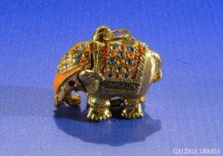 0A495 Arany színű Bangkok-i elefánt medál
