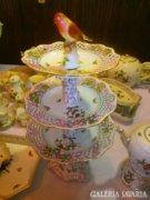 LUXUS PUR! ANTIK! ROTHSCHILD  220db! HERENDI porcelánok!