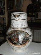 Karlsbadi  porcelán kiöntő