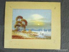 8290 Olaj festmények mappában 4 darab