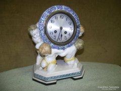 Szecessziós kandalló óra, Wilhelm Kolmar