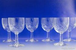 0A282 Talpas üveg pohár készlet