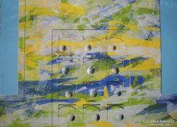 Pecsenke József(1942-1989): The Ball goes from left to right