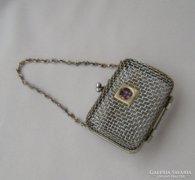 Antik aprópénz-tartó, színházi táskához