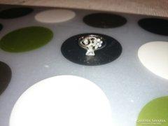 Cirkonköves ezüst gyűrű I.