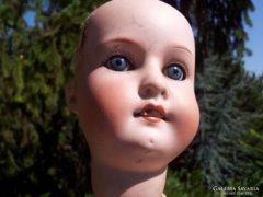 Antique porcelain head doll, Heubach Köppelsdorf