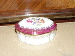 Bavaria Virágos Porcelán Bonbonier