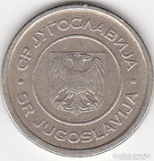 Jugoszláv 5 Dinara 2002