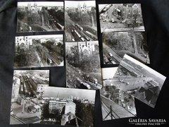 BUDAPEST LEHEL TÉR METRÓ ELÖTT FOTÓ 1968 10 darab