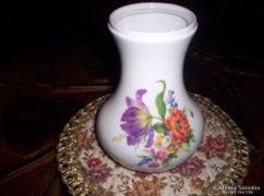 15 cm magas porcelán váza