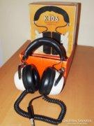 Régi Vintage, fejhallgató, eredeti dobozában!