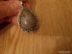 Ékszer, -ezüst medál, antik