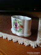 Herendi virág mintás porcelán
