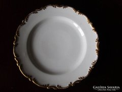SZECESSZIÓS porcelán kináló aranyozott BÉCS 1908 RENDKÍVÜLI