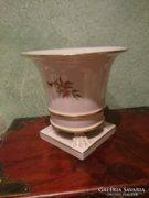 Herendi Hecsedlis, körmös kaspó, váza