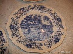 Saregeumines lapos tányérok 6 db