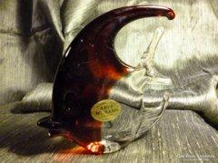 Muránói üveg halacska 12,5 cm