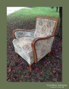 Neobarokk fotel,garnitúra része