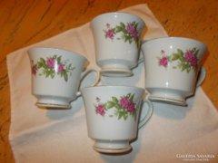 Porcelán  csészék