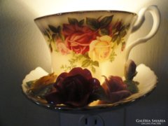 Ritka  hatalmas készlet!  Antik extrém Fényűző Royal Albert Angol 12szem.étkávés.teás