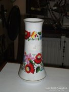 Kalocsai porcelán váza