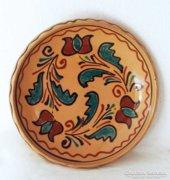 Tulipános tál, régi tányér, Steig, Szekszárd