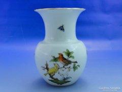 0A851 Antik herendi Rothschild mintás váza