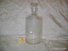 Régi gyógyszertári üveg - nagy méretű