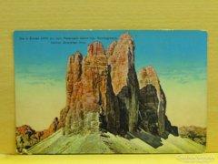 0A900 Régi képeslap Die 3 Zinnen Tirol