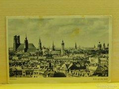 0A907 Régi képeslap München Blick auf die Stadt