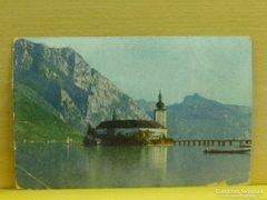 0A916 Régi képeslap Gmunden Schloß Orth 1932