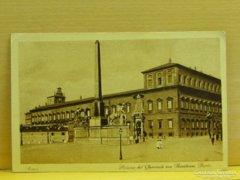 0A919 Régi képeslap Quirinale palota Róma
