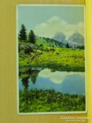 0A922 Régi képeslap Ausztria tájkép 1933